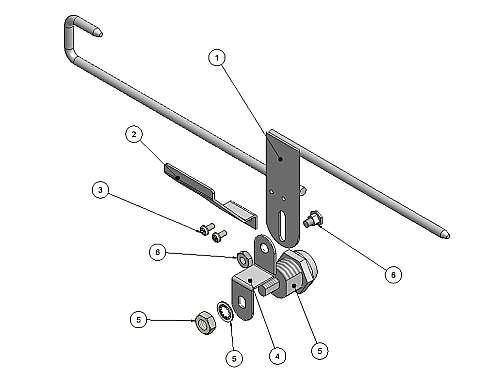 070-0120-01 Lock Slide Assembly